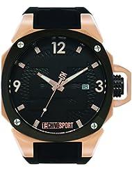 TECHNO Sport Hombre Chrono Reloj–Golden Touch Oro