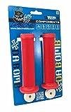 DA BOMB BONBONS Mountain Bicycle Dirt Jump MTB/DJ/BMX/Street Bike Grips (Red)