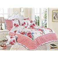 Hours Compressed Comforter 6 Pcs Sets, King Size, Cache-17, Multi Color, Microfiber