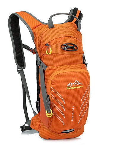 ZQ 15 L Radfahren Rucksack Camping & Wandern Draußen Wasserdicht / Schnell abtrocknend / tragbar / Atmungsaktiv andere Nylon / Terylen other Orange