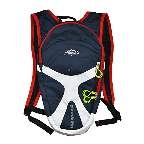 West biking Radsport Mini Fahrrad Rucksack Bike Bag Sport Rucksack für Wandern, Camping, Laufen Daypacks Dunkelblau