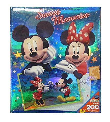 Disney Mickey Minnie Mouse Sweet Memories Postkarte 4x 6200Seite Foto Album