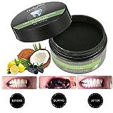 Zahnpulver, LuckyFine 50g Bambuskohle Zahnpulver natürliche Inhaltsstoffe Zahn Reinigung Weiße Zähne frischer Atem -