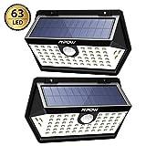 Mpow Basics Luz Solar de Pared 63LED, 3 Modos, PIR Sensor de...