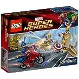 Lego Super Heroes - 6865 - Jeu de Construction - La Vengeance de Captain America