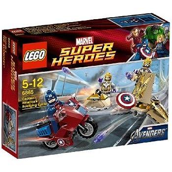 Lego super heroes 6865 jeu de construction la vengeance de captain america - Jeux de lego avengers gratuit ...