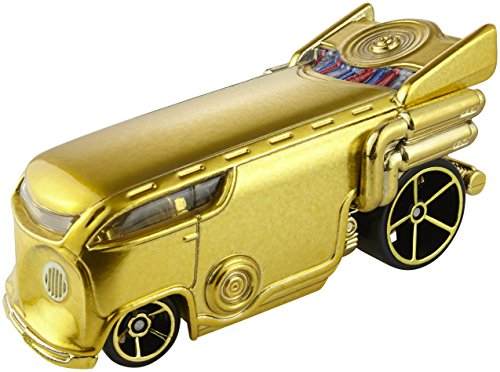 Hot Wheels Star Wars - C-3PO - Modelos de Juguetes