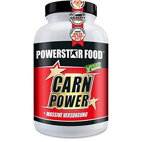L-CARNITIN - HOCHDOSIERT & 100% REIN - Fatburner/Fettverbrenner + Vitamin B6 zur Beschleunigung deiner DIÄT & DEFINITIONSPHASE - 125g Pulver à 125 Portionen - MADE IN GERMANY