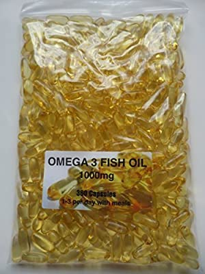 The Vitamin Omega 3 Fish Oil 1000mg (360 Capsules - Bagged) from The Vitamin
