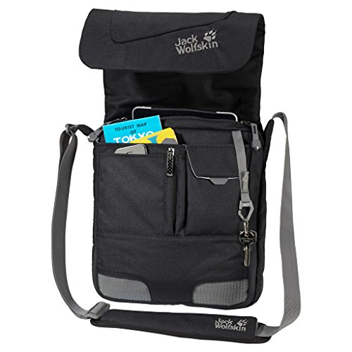 Jack Wolfskin Daypacks & Bags Redfern Borsa a tracolla 31 cm scomparto Laptop Nero - nero
