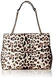 Guess HWEL7180200 Robyn Shoulder Bag Mujer Shoppers y bolsos de hombro Multicolor (Leopard) 13x26x34 centimeters (W x H x L)