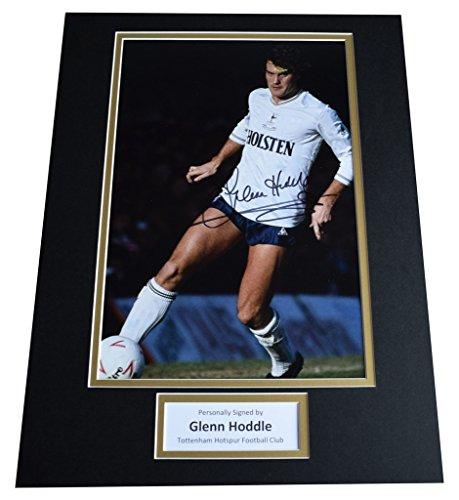 Sportagraphs-Glenn-Hoddle-SIGNED-autograph-16×12-photo-display-Tottenham-Hotspur-AFTAL-COA-PERFECT-GIFT