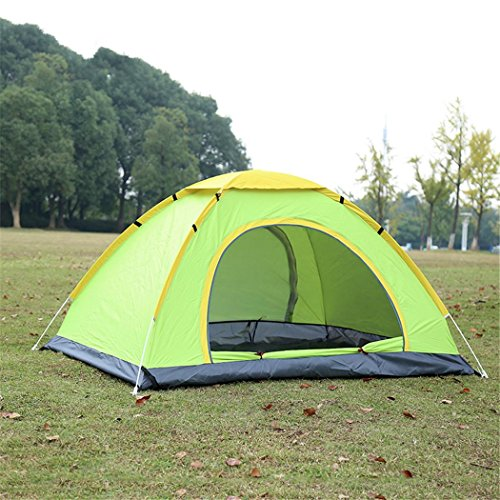 NIHE Doppel-Gang-Automatik Outdoor-Camping-Zelt Zelt geöffnet Hand Doppelaußenzelt regt Moskito...