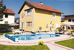 Steinbach Styria Stahlwandpool Set, oval, 800 x 400 x 120 cm, 012260