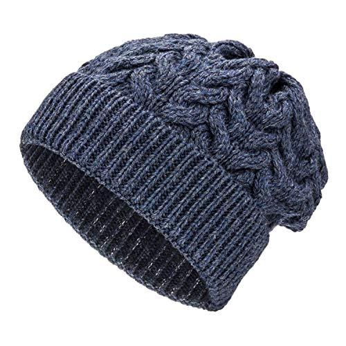 Weiche Damen Alpaka Mütze aus 100% Alpaka Wolle in 6 Farben - Hochwertige Winter...