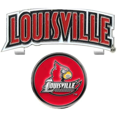 Louisville Slider-Cappello da Golf a sfera con Clip in metallo, con (Louisville Campo Cappello)