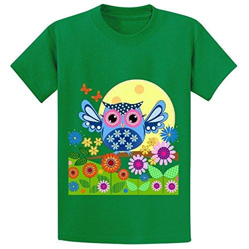 spring-owl-in-a-flower-garden-boys-crew-neck-graphic-tees-xl-150