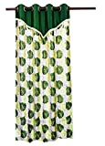 PIPAL LEAVES PRINTED CURTAIN GREEN WITH ...