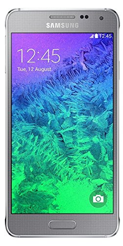 Samsung Galaxy Alpha (11,90 cm (4,7 Zoll) Super-AMOLED-Display, Octa-Core-Prozessor, 12-Megapixel-Kamera, Android 4.4) silber [T-Mobile Branding] - Alpha Samsung Display