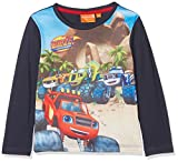 Sun-City Jungen T-Shirt Blaze Racing Tricks, Blau (Blue 19-4024TC), 5-6 Jahre