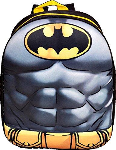 Batman eva de los niños mochila, 32cm), color gris
