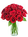 #2: KaBloom Bouquet of 18 Fresh Cut Red Roses