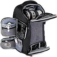 Beschoi Kamerarucksack wasserdicht Fotorucksack mit Laptopfach für DSLR Kamera und Zubehör