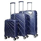 Aerolite Suitcase, 73 cm, 116 Liters, Blue