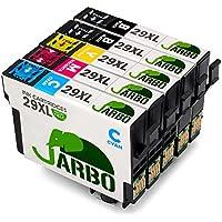 JARBO Compatible Epson 29 XL Cartouches d'encre (2 Noir,1 Cyan,1 Magenta,1 Jaune) Compatible avec Epson Expression Home XP-235 XP-332 XP-335 XP-432 XP-435 XP-245 XP-247 XP-442 XP-445 XP-342 XP-345