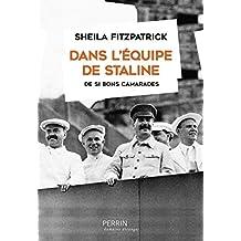 Dans l'équipe de Staline (Domaine étranger)