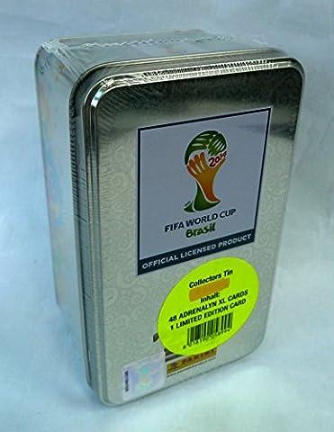Panini Adrenalyn XL FIFA World CAP BRASIL 2014 Tin Sammeldose,