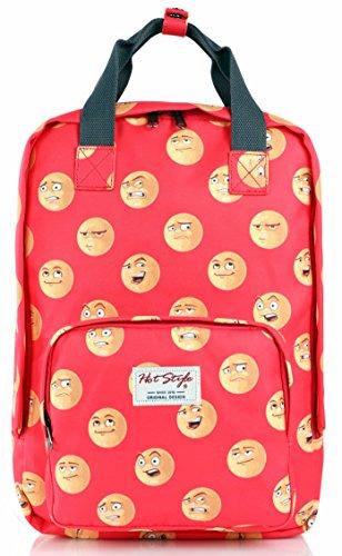 Imagen de hotstyle emoji  escolares juveniles niñas bolsas notebook 40x29x14cm  alternativa