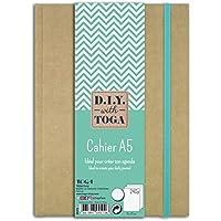 D.I.Y with Toga SU107- Agenda Bullet Journal, cuaderno kraft, 15,5x 21,5x 1,5cm