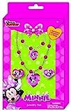 Joy Toy 71270Minnie Collar/Pulsera y Dos Anillos joyería Set de Regalo