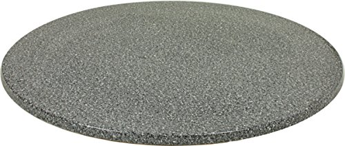 VARILANDO runde Tischplatte aus Werzalit, verschiedene Ausführungen Ø 100 cm (Granit)