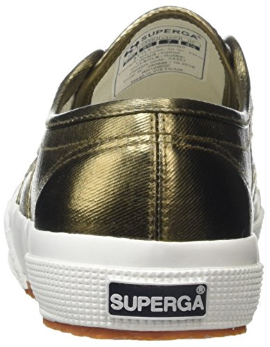 Superga 2750 Cotmetu, Basses Femme Gold (Bronze)