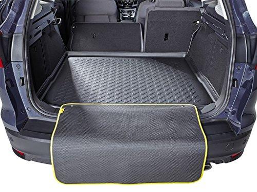 Fussmatten-Deluxe Kofferraumwanne schwarz inklusive Multimatte Hinweise beachten