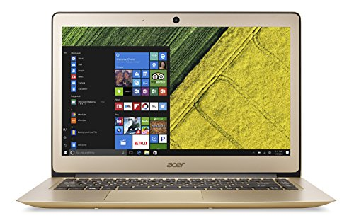 "Acer SF314-51-51M - Ordenador Portátil de 14"" HD (Intel Core i5-7200U, 8 GB de RAM, 256 GB SSD, Intel HD Graphics 620, Windows 10) Gris - Teclado QWERTY Español"