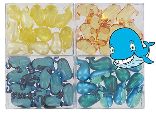 lot-de-4-boites-de-12-perles-dhuile-de-bain-animaux