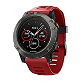 Tabcover for Garmin Fenix 5x Watch Bracelet,Soft Silicone Sport Replacement Strap Bracelet for Garmin Fenix 5x Smart Watch