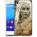Official HBO Game Of Thrones Daenerys Targaryen Character Portraits Hard Back Case for Sony Xperia M4 Aqua