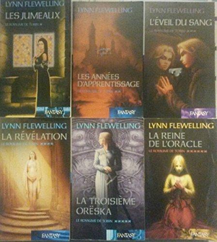 Le royaume de Tobin en 6 tomes (Les jumeaux/ Les années d'apprentissage/ L'éveil du sang/ La révélation/ La troisième Oreska/ La reine de l'oracle)
