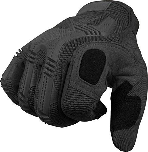 Vollfinger Allround Einsatzhandschuhe für Sport und Outdoorbereich Farbe Schwarz Größe XL