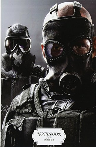 Notebook : Tom clancys rainbow six siege: Journal Dot-Grid,Graph,Lined,Blank No Lined, Small Pocket Notebook Journal Diary, 120 pages, 5.5