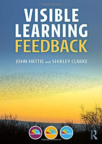 Visible Learning: Feedback: Volume 2 por John Hattie