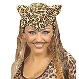 Amakando Katzen Schnurrbart Maus Bart Katze Schnurrbarthaare Schnurrhaare Karneval Kostüm Zubehör Tier Accessoire Leoparden Schnurrhaar