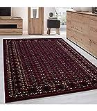 Orientteppich Klassischer Orientalisch Traditional Webteppich Schwarz Rot - 200x290 cm