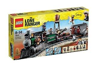 LEGO The Lone Ranger 79111 - Eisenbahnjagd (B0094J59MC)   Amazon price tracker / tracking, Amazon price history charts, Amazon price watches, Amazon price drop alerts