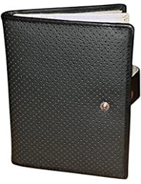 Style 98 Leather Travel Passport Wallet With 10 Card Slots & 2 Passports