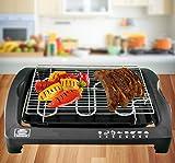 ELT Tisch Barbeque Elektrogrill Cool-Touch 2000W Elektrischer Tischgrill BBQ-Grill Partygrill Balkongrill (Tisch)